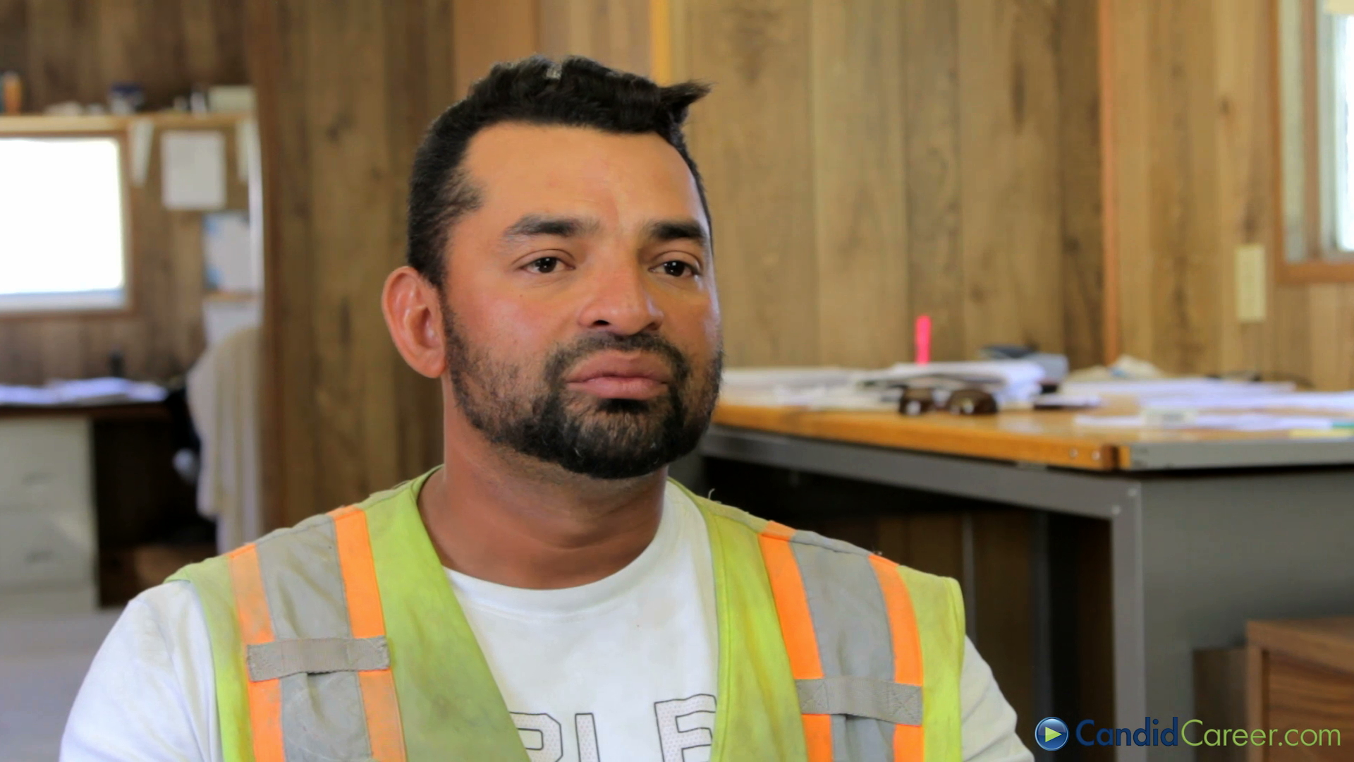 candid career estimator foreman