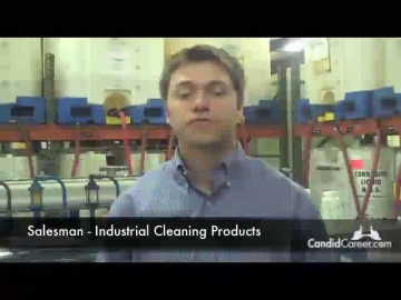 Cleaning Products Sales Rep