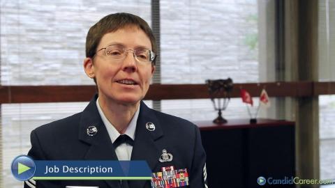 Deborah Volker, Chief Master Sergeant, US Air Force Band