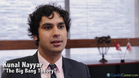 Kunal Nayyar, Actor, Big Bang Theory
