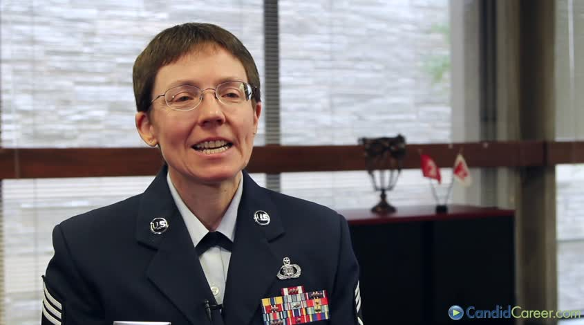 Deborah Volker, Chief Master Sergeant, US Air Force Band