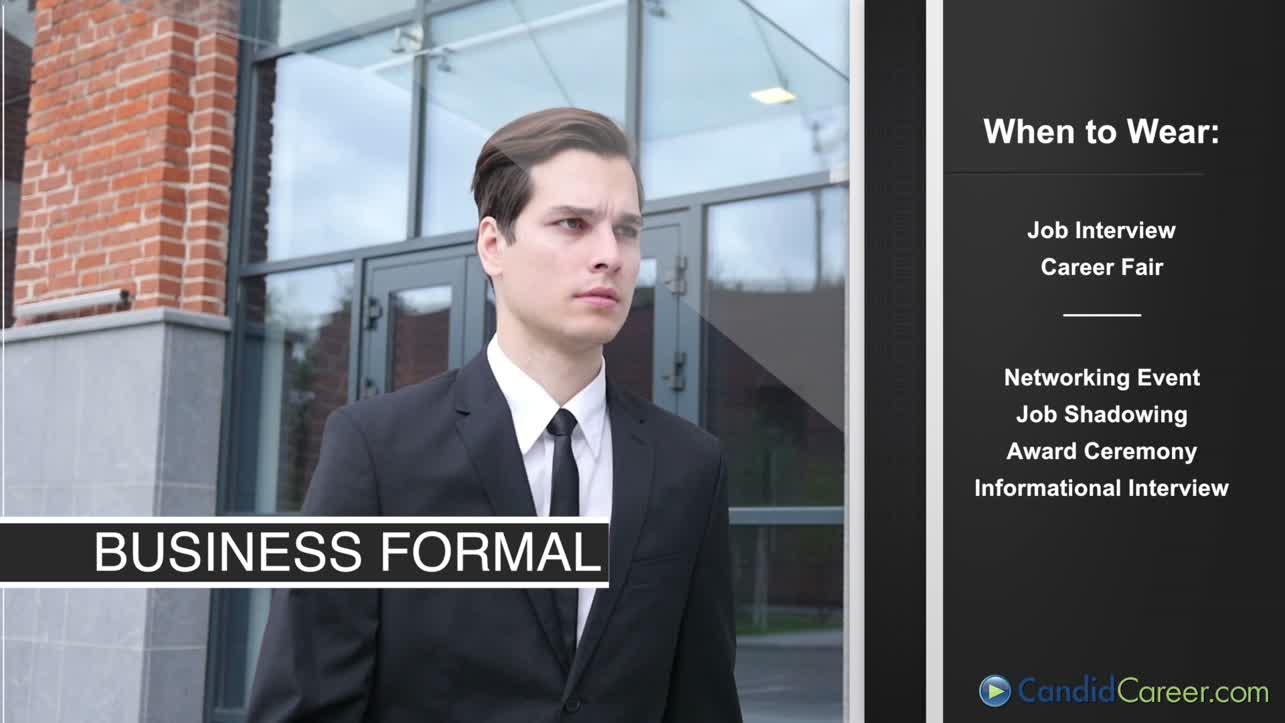 Men's Dress for Success