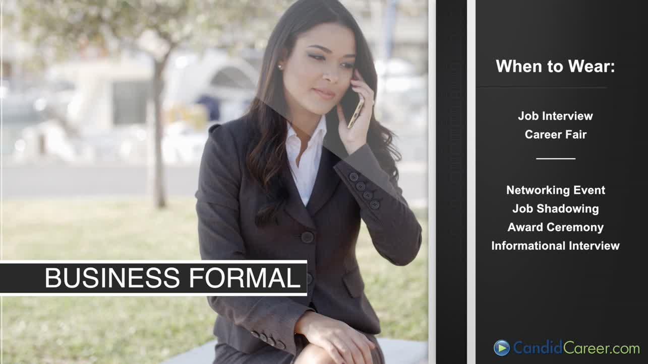 Women's Dress for Success